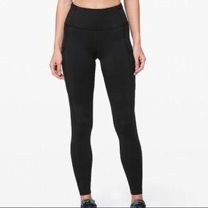 Women's Lululemon Black Speed Tight Leggings